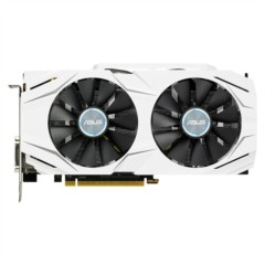 华硕DUAL-GTX1060-O6G 1569-1809MHz 6G/8GHz GDDR5 PCI-E3.0显卡