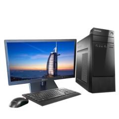 联想扬天M3900c 台式电脑 (E1-7010 2G 500G 集显 无光驱  Win7)19.5英寸