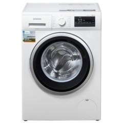 西门子WM12P2R08W 8公斤 变频 滚筒洗衣机 静音 除菌 LED触摸键 加速洗 节能洗(白色)