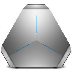 外星人Area51-4878水冷游戏电脑主机(i7-6950X 32GB 512G SSD+4T 双GTX1080 8G独显 Win10银)