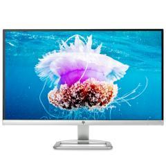 惠普27EA 27英寸 6.3mm纤薄 IPS FHD 178度广视角 窄边框 LED背光液晶显示器(典雅白内置音箱)