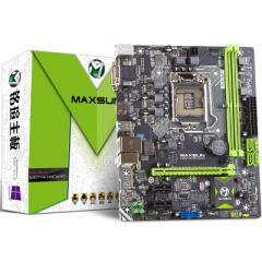 铭�uMS-H110D4L 全固版 主板( Intel H110/LGA 1151)