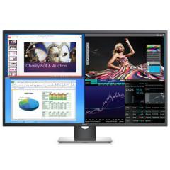戴尔P4317Q 43英寸4K超高清内置音箱IPS屏显示器