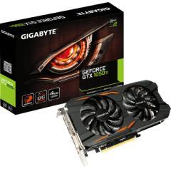 技嘉GTX1050Ti WF2OC 1328-1442MHz/7008MHz 4G/128bit GDDR5显卡
