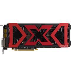 迪兰RX 480 4G X-Serail 1279-1330/7000MHz 4GB/256-bit GDDR5 DX12 独立显卡 VR游戏显卡