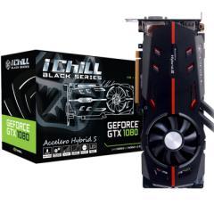 映众GTX1080 BLACK冰龙黑金版 ICHILL 1759~1898MHz/10.4Gbps 8GB/256Bit GDDR5X PCI-E显卡
