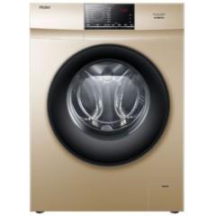 海尔EG80B829G 8公斤变频滚筒洗衣机 特色消毒洗  时尚香槟金
