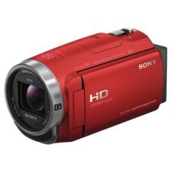 索尼HDR-CX680 高清数码摄像机 5轴防抖 30倍光学变焦(红色)