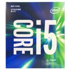 Intel酷睿四核I5-7600 盒装CPU处理器