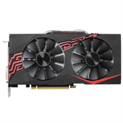 华硕GTX1060-O6G-GAMING 1569-1784MHz 6G/8GHz GDDR5 PCI-E3.0显卡