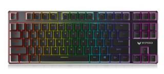 雷柏V500RGB合金版幻彩RGB游戏机械键盘