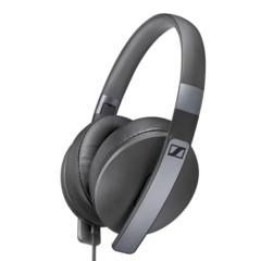 森海塞尔HD 4.20S 封闭包耳式立体声线控可折叠耳机 黑色