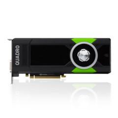 丽台Quadro P5000 16GB/GDDR5X/256-bit/288GBps/CUDA核心2560 Pascal GPU架构/VRREADY专业显卡