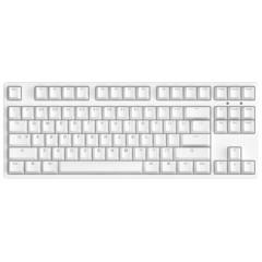 Ikbc全新G87 双系统PBT键帽 机械键盘 原厂Cherry轴 白色 茶轴
