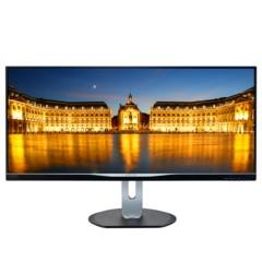 飞利浦BDM3470FP 34英寸 2K全高清 21:9宽屏 AH-IPS面板 多视窗 旋转升降 电脑显示器 显示屏