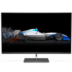 惠普ENVY 27S 27英寸4K UHD高清 IPS 窄边框大屏 178度广视角 FreeSync 支持壁挂 液晶显示器(黑色)