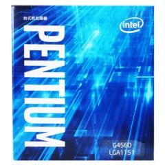 Intel奔腾双核G4560 盒装CPU处理器