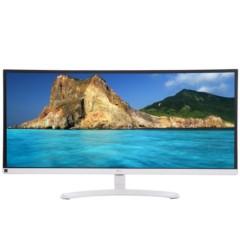 LG34UM58A-W 34英寸21:9超宽屏IPS硬屏 护眼不闪滤蓝光LED背光液晶显示器