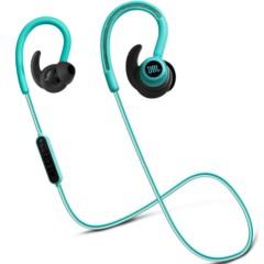JBL Reflect Contour 无线蓝牙运动耳机 入耳/耳挂式线控 手机耳机/耳麦 青绿色迷你版