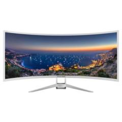 长城35WL49RF/1 35英寸 21:9带鱼屏 2.5K 2500R曲率 VA广视角 HDMI/DP接口液晶显示器