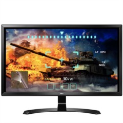 LG27UD58-B  27英寸4K IPS硬屏 爱眼不闪滤蓝光LED背光液晶显示器