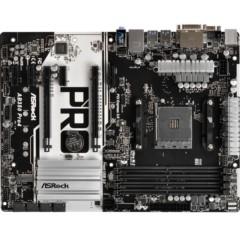 华擎AB350 PRO4主板(AMD B350/AM4 Socket)