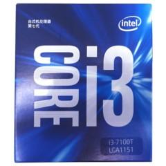 Intel酷睿双核 i3-7100T 盒装CPU处理器