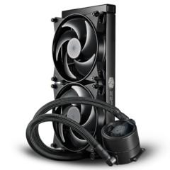酷冷MasterLiquid Pro 280(冰神Ⅱ)CPU水冷散热器(多平台/双腔水泵/微水道铜底/低噪)