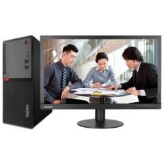 联想E75台式电脑办公21.5英寸(i5-7400 4G 1T 1G独显 Win10)10QE000ECD