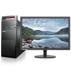 联想E73台式办公电脑19.5英寸(i3-4170 4G 500G 1G独显 Win7)10C0A03TCD