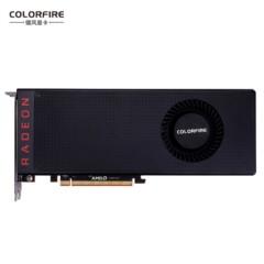 镭风Radeon RX Vega 64 龙蜥 8G 1247-1546MHz/1890MHz 8G/2048bit HBM2 PCI-E 3.0显卡