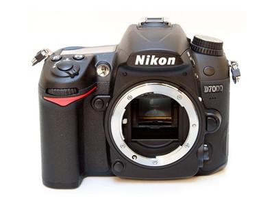 尼康D7000 单反机身外观图片