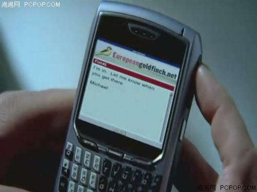 看《越狱》中第三人气帅哥用什么手机