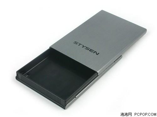 独特滑盖式设计 新款移动硬盘盒测试