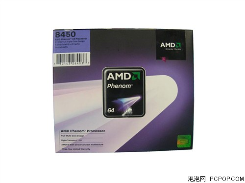 AMD预计8月推出新65W低功耗三核羿龙