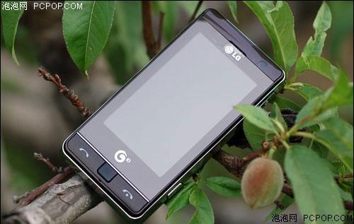 大屏触控玩3G! LG KT878入手只需1640