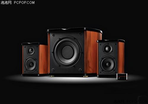 传统木质2.1音箱 惠威M50W报价1280元