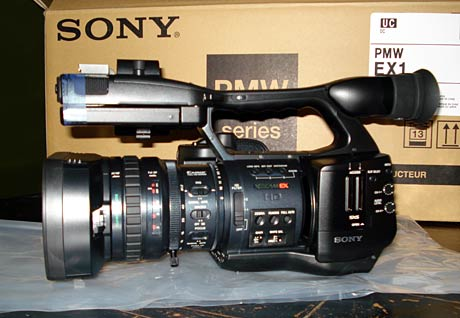 专业摄像机 索尼EX1购机即有精美礼品