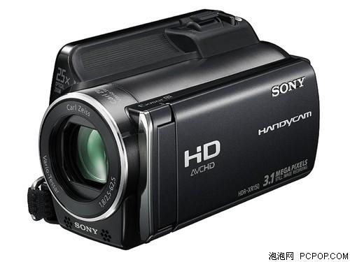 索尼新款入门全高清硬盘DV XR150促销