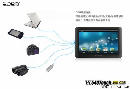 昂达VX540TouchMP3