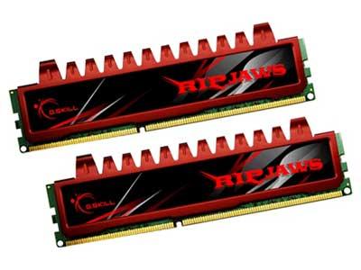 芝奇4G DDR3 1333套装(F3-10666CL9D-4GBRL)内存