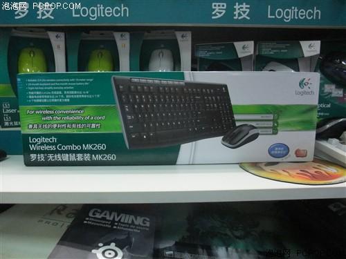 节能省电型键鼠 罗技MK260套装117元