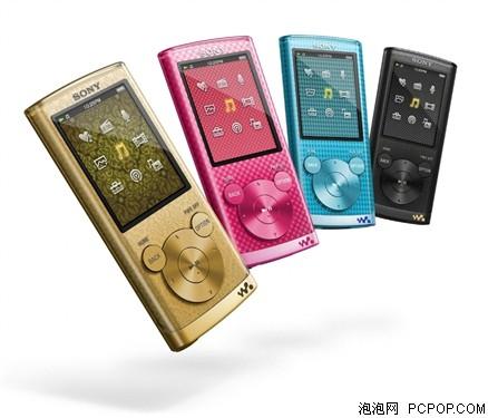 四色炫彩机身 索尼NWZ-E453网购640元