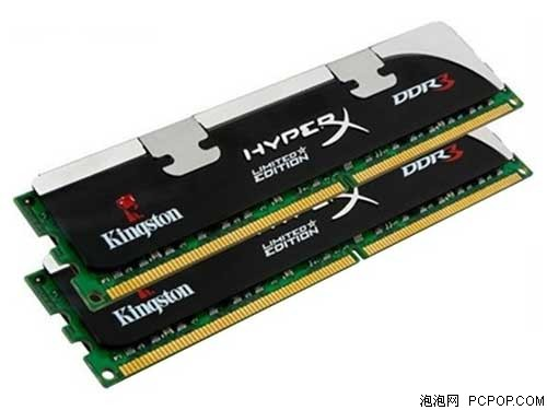 金士顿骇客神条4G DDR3 1600套装(KHX1600C9D3X1K2/4G)内存