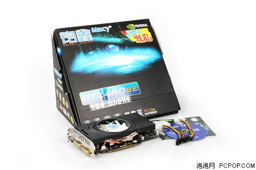铭鑫视界风GTX460SE -1GBD5 炫彩版显卡