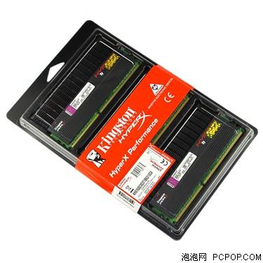 金士顿骇客神条12G DDR3 1600套装(KHX1600C9D3T1BK3/12GX)内存