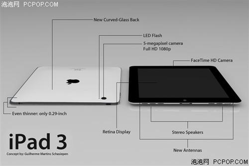 苹果(Apple)iPad3平板电脑