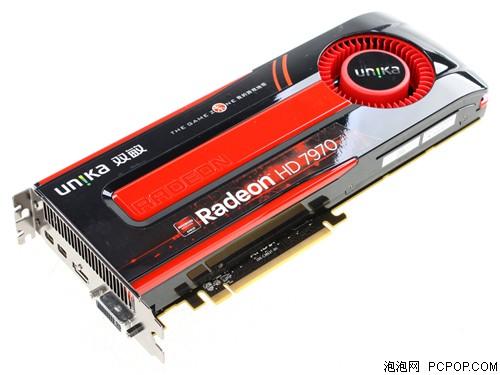 双敏无双 HD7970 DDR5 (3G)黄金版显卡