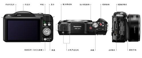 松下gf5的设计拍照及参数性能详细测评 细节上的改变介绍