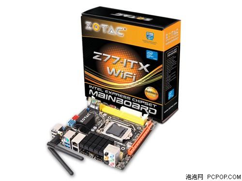 索泰迷酷Z77ITX-A-E WiFi主板
